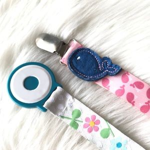 Girls Pacifier Holders